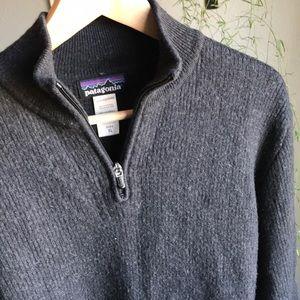Patagonia Men's Quarter-Zip Merino Wool Sweater